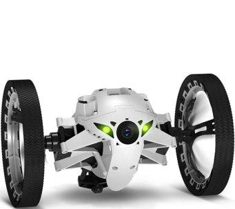 Parrot Jumping Sumo Indoor & Outdoor Ground Drone w/Picture & Video Camera - E228431