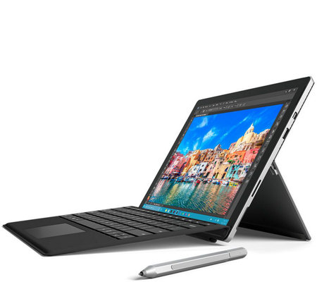 Microsoft Surface Pro 4 Core i5, 128GB Tech, Office365 Black Keyboard