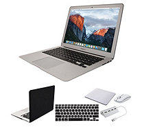 "Apple MacBook Air 13"" Laptop w/ Clip Case, Wireless Mouse & Accessories - E231731"
