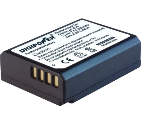 Digipower Canon LP-E10 Li-ion Replacement Battery Pack