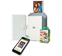 Fujifilm Instax SHARE Smartphone Printer with 20-Pack Film - E291831