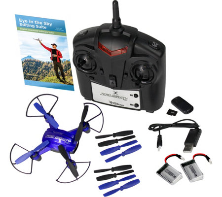 Zero Gravity HD Quad Drone Indoor, Outdoor HD Photo, Video Camera & Remote