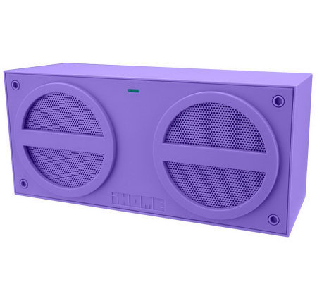 iHome Portable Mini Bluetooth Stereo Speaker with NFC