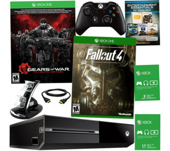 Xbox One 500GB Gears of War with Fall Out 4 & 3 Month Xbox Live Card - E228632