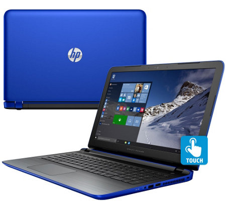 "HP 15"" Laptop Windows10 Touch 12GB RAM 1TB HD Tech Support & MS Office 365"