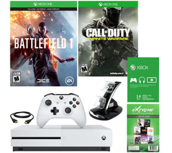Xbox One S Battlefield 1 500GB Console with Choice of Game and Access - E230132