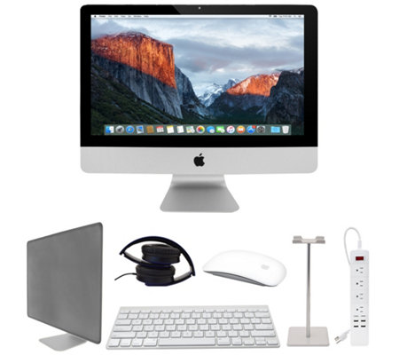 "Apple iMac 21.5"" 1.6GHz with Headphones and Accessories"