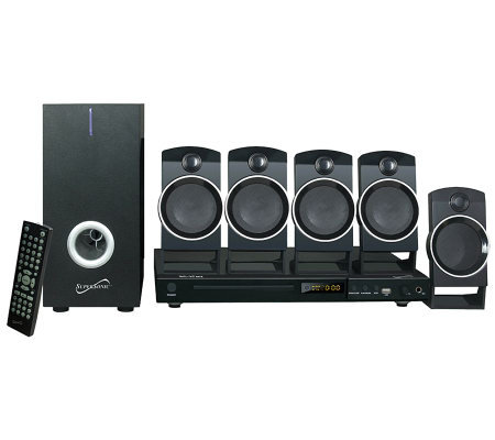 SuperSonic 5.1-Channel DVD Home Theater with Karaoke Function