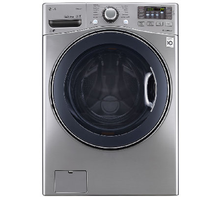 LG 4.3 Cu. Ft. Large Capacity Steam Front LoadWasher