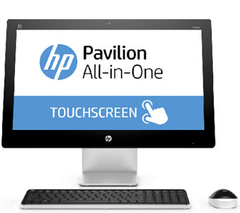 "HP 23"" All-in-One - AMD A8, 1TB HDD, Windows 10with Software - E285132"