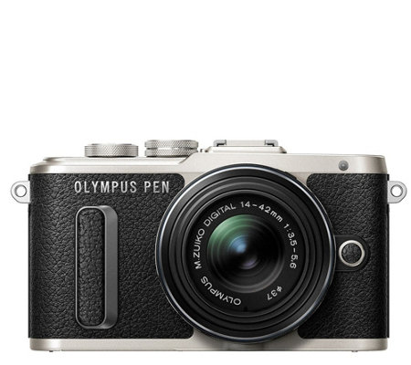 Olympus E-PL8 16.1 MP Mirrorless Camera w/ 14mm-42mm Lens
