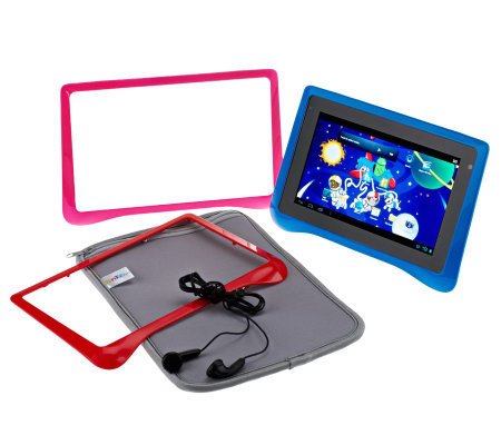 "FunTab Pro 7"" 8GB Android 4.0 Kid Friendly Tablet w/ Apps & Accessories"