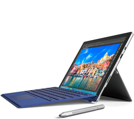 Microsoft Surface Pro 4 Core i5, 128GB Tech, Office365 & Blue Keyboard