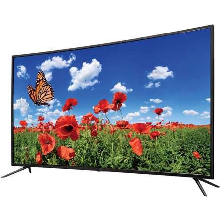 "GPX 55"" Curved 4K Ultra High Definition LED TV"