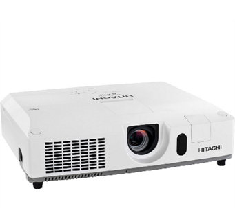 Hitachi WXGA 4,000 Lumens LCD Projector with Accessories - E285333