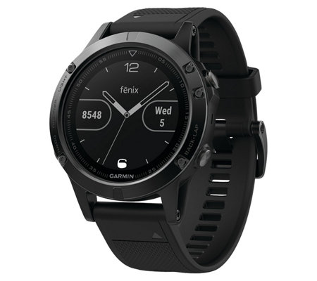 Garmin fenix 5 47mm Multisport Smartwatch - Sapphire Edition