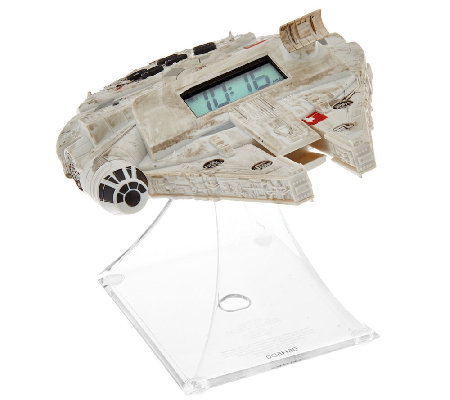 Star Wars Hero Vehicle Night Glow Clock