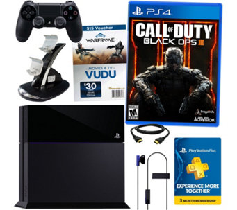 Sony PS4 Bundle with Call of Duty Black Ops 3 - E228634