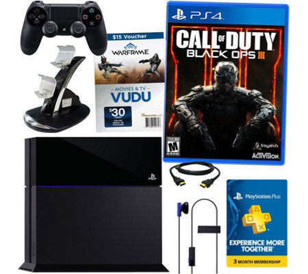Sony PS4 Bundle with Call of Duty Black Ops 3