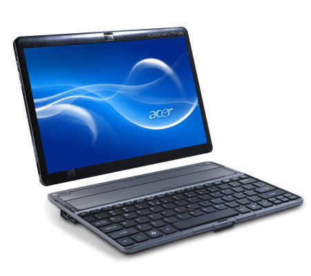"Acer 10.1"" Touchscreen 32GB WiFi Tablet with Keyboard Dock"