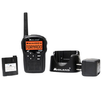 Midland S.A.M.E. Handheld Weather Alert Radio -Black - E262534