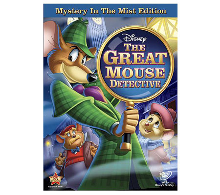 Great Mouse Detective: Mystery in the Mist Edition DVD
