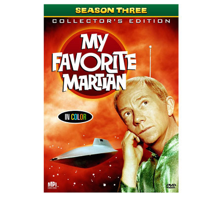 My Favorite Martian: Season 3 5-Disc DVD Set