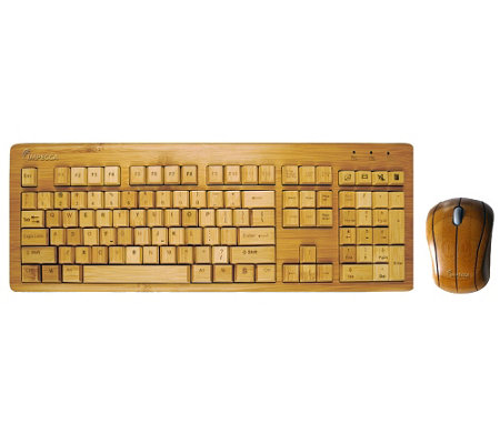 Impecca Bamboo Keyboard and Mouse