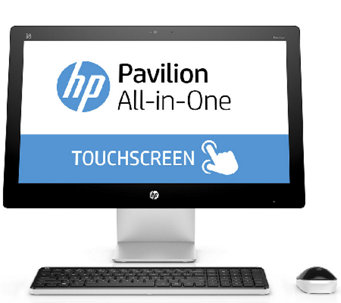 "HP 23"" All-in-One - AMD A10, 8GB RAM, 1TB HDD with Software - E285134"