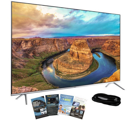 "Samsung 55"" Class 4K Ultra HD Smart TV with HDMI and App Pack"