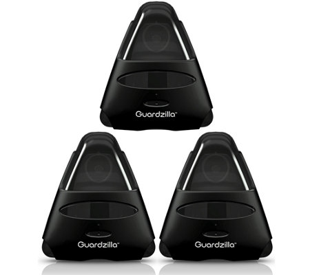 Guardzilla All-In-One HD Video Security System- Three-Pack