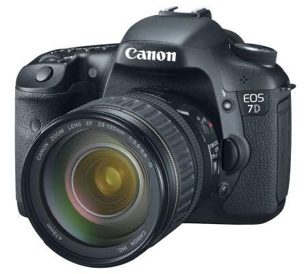 Canon EOS 7D DSLR 18MP Camera with 28-135mm Lens & HD Video