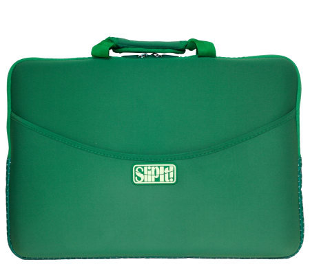 "SlipIt! Plus Case for 15"" Notebook - Green"