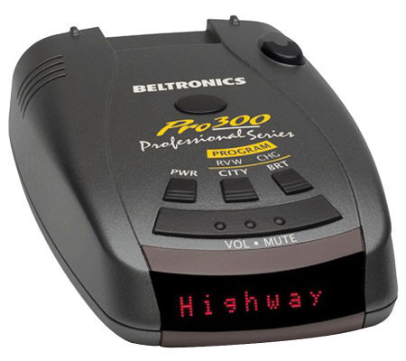 Beltronics Pro 300 All-Band Radar and Laser Detector
