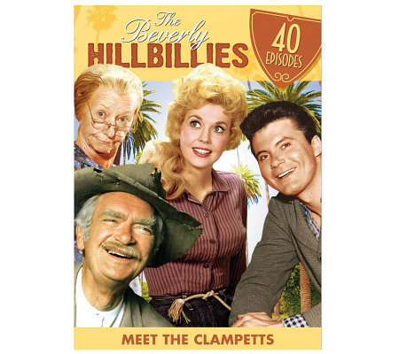 Beverly Hillbillies: Meet the Clampetts - 40 Episodes DVD