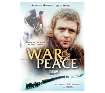 War & Peace (1973) Five-Disc DVD Set - E265635