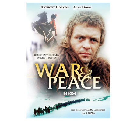 War & Peace (1973) Five-Disc DVD Set