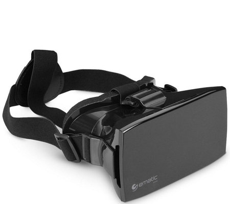 Ematic 3D Virtual Reality Headset for iOS & And roid Phones