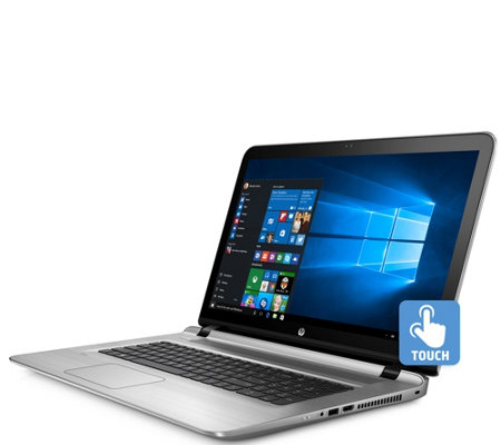 "HP ENVY 17"" Touch Laptop - Core i7, 12GB RAM, 1TB Hybrid Driv"