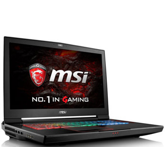 MSI GT73VR Gaming Computer - Core  i7, 16GB RAM, GTX 1080 - E289835