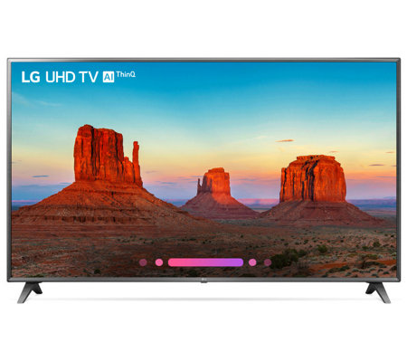 "LG 86"" Class 4K HDR Smart LED AI UHD TV with ThinQ"