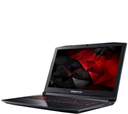 "Acer 17.3"" Gaming Laptop - Core i7, 16GB, 1TB HDD & 256GB SSD"