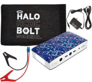 HALO Bolt ACDC Portable Charger & Car Jump Starter w/ AC