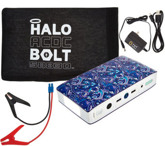 HALO Bolt ACDC 58,830 mWh Portable Charge Car JumpStarter with AC Outlet - E229136