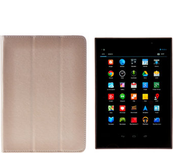 "Gigaset 8"" Android Wi-Fi QuadCore Tablet w/Google Play Case&Protection - E229536"