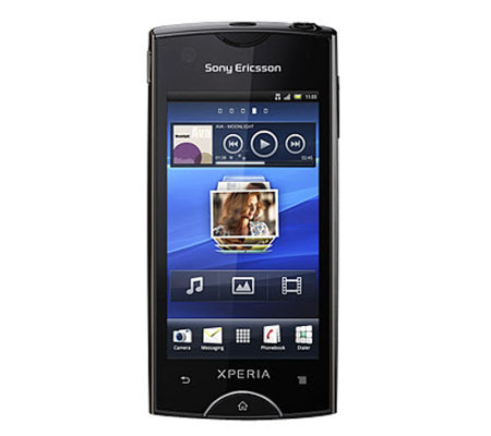 Ericsson Xperia Ray Google Gingerbread Android2.3 Phone Black