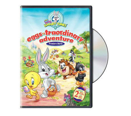 Baby Looney Tunes Eggs-traordinary Adventure DVD
