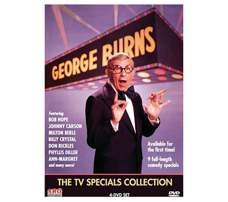 George Burns - The TV Specials Collection 4-Disc DVD Set