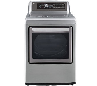 LG 7.3 Cubic Foot Ultra-Large SteamDryer - Graphite - E283936