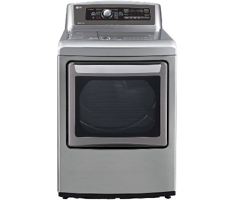 LG 7.3 Cubic Foot Ultra-Large SteamDryer - Graphite